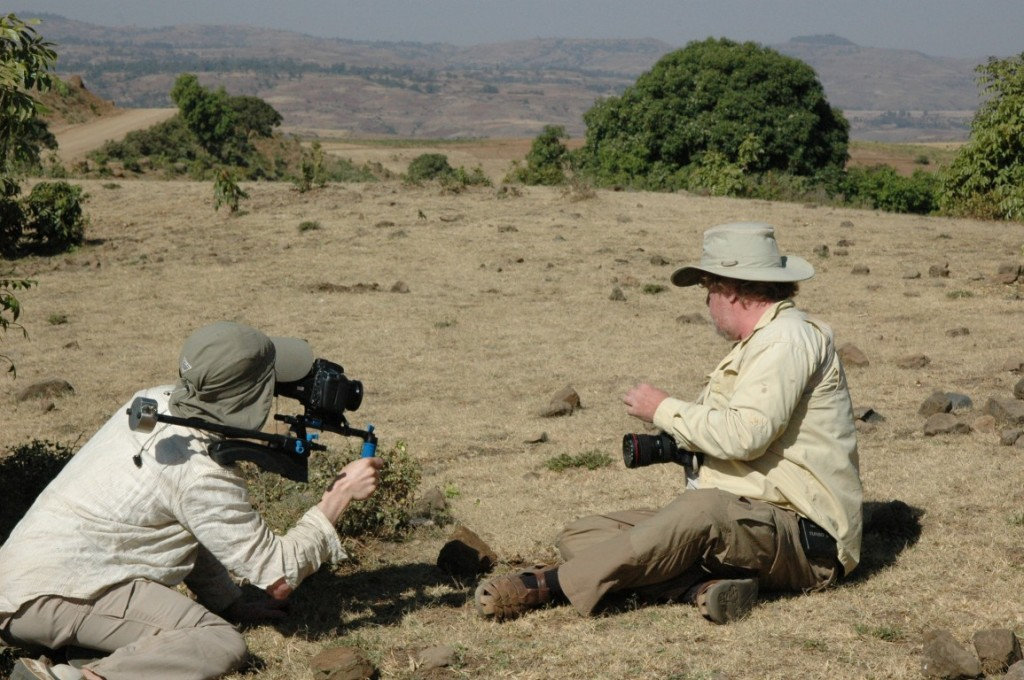 Mark Moffett, ant biologist and wildlife photographer -- doing both at the same time!