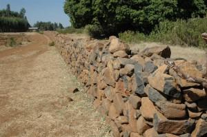 Ethiopia Stone Wall
