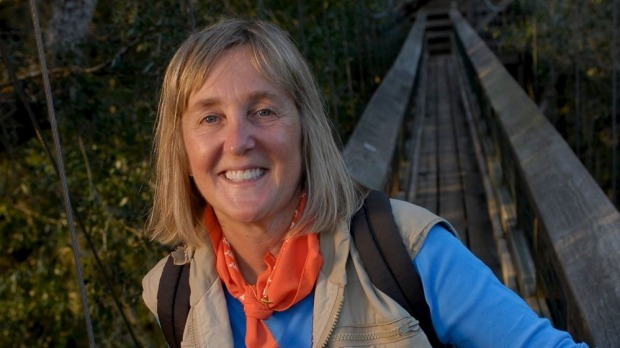 Tree queen: Meg Lowman is regarded as the mother of forest canopy research. Photo: Carlton Ward