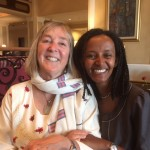 Reunion in Addis (Ethiopia) with Rolex laureate Brukty Tigabu, who continues to inspire kids about health and science with her TV shows. I am proud to be her 'bestie!'