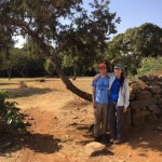 NSF undergraduate students Janice and Jacob turned their summer research into thesis projects. They worked inside the beautiful new conservation walls constructed at Goha church forest, thanks to a unique partnership of local Coptic priests and TREE Foundation.