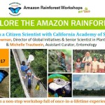 Amazon Rainforest Workshop 2016
