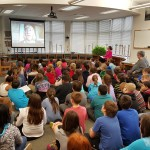 Mr. Klein's 5th Grade Class Skype session with CanopyMeg.