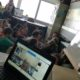 CanopyMeg speaks about rain forests with 5th grade students